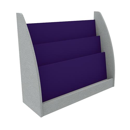 Brodart Quarx Mobile Single-Sided Short Book Display