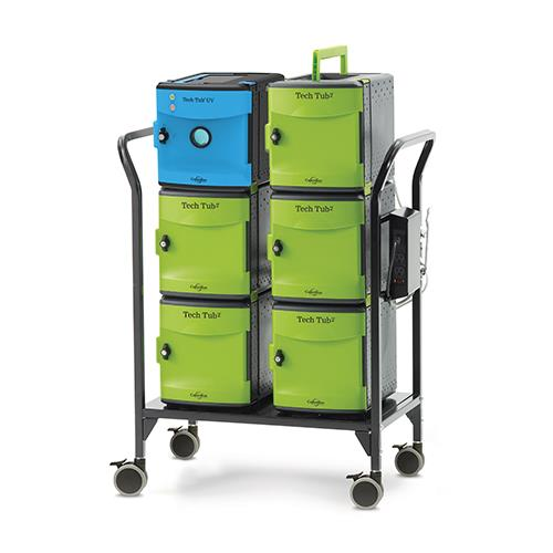 Copernicus UV Tech Tub® Modular Cart 26 Capacity w/UV Tech Tub®