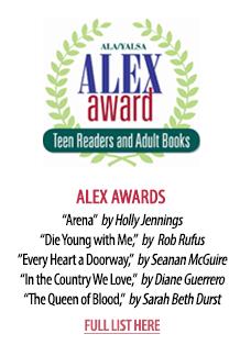 2017 ALEX Award Winners