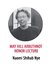 2017 May Hill Arbuthnot Honor Lecture Award Winner