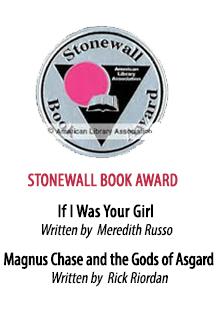 2017 Stonewall Book Award Winner