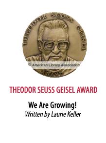 2017 Theodor Seuss Geisel Award Winner