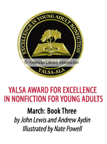 2017 YALSA Award for Excellence in NonFiction for Young Adults