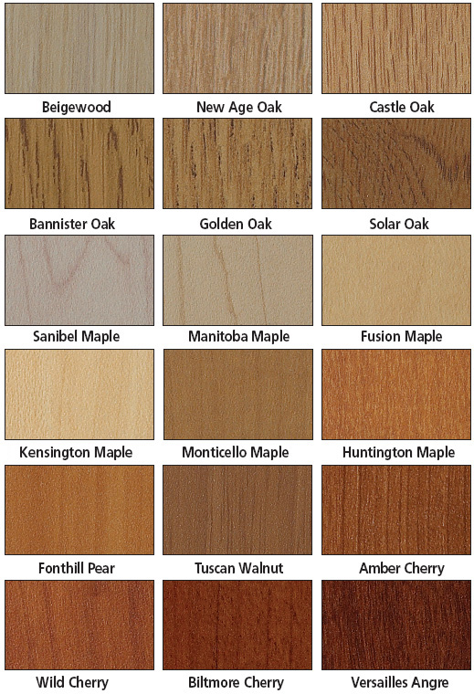 Wood Laminate Finish