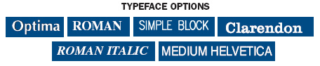 TypeFace Option