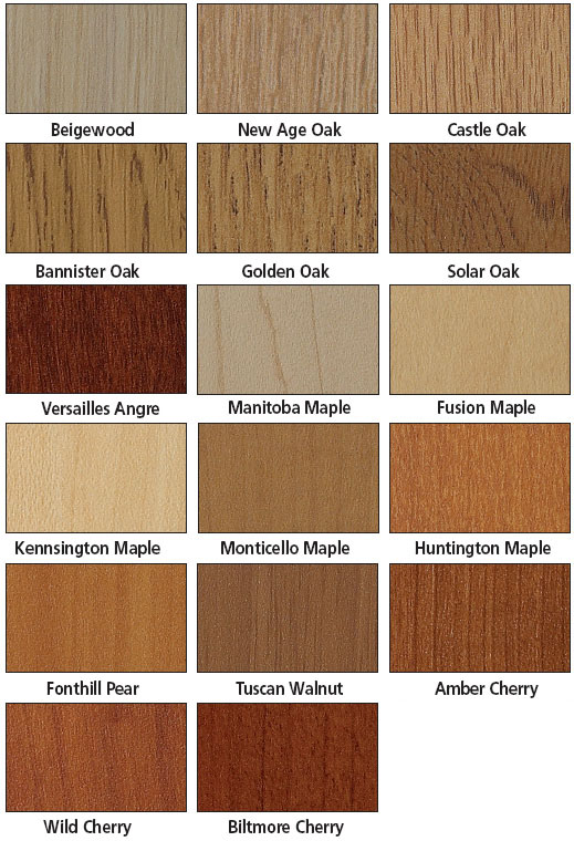 Brodart wood Laminate Color