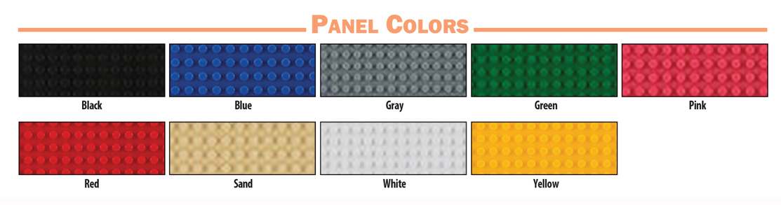 Brodart Activity Furniture Panel Colors