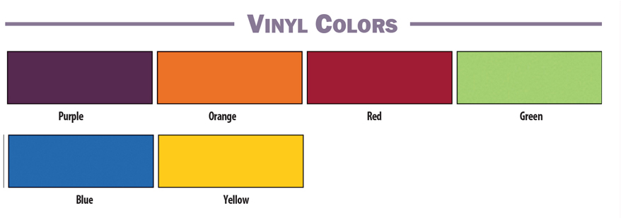 Brodart Quarx Vinyl Colors