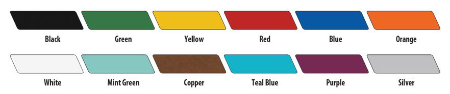 CEF Stool Colors