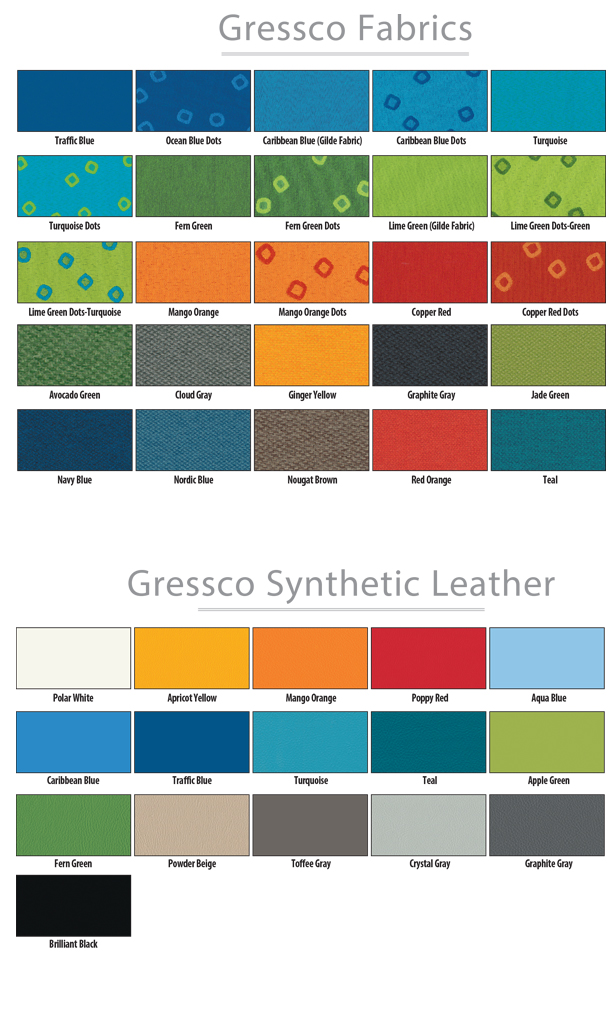 Gressco Fabrics or Synthetic Leather