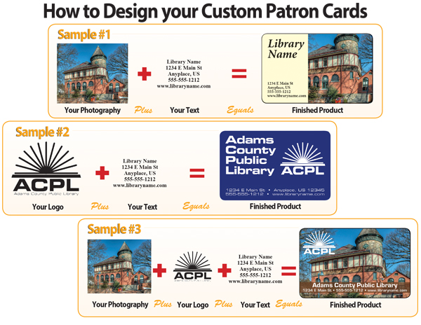 How to Design Custom Patron Cards