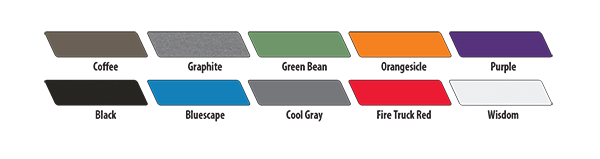 Paragon Accent and Edge Colors