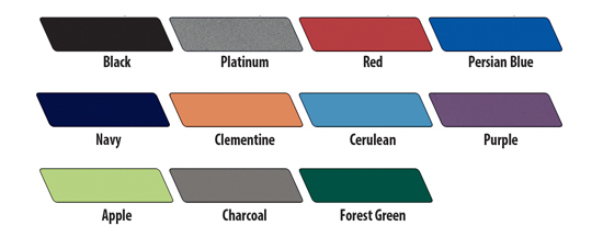 Smith System Book Truck Shelf Colors