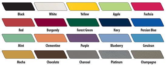 Smith System Standard Edge Fence Color
