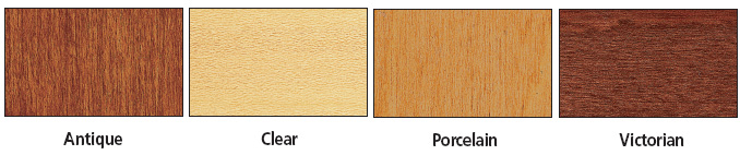 Brodart Maple Finishes