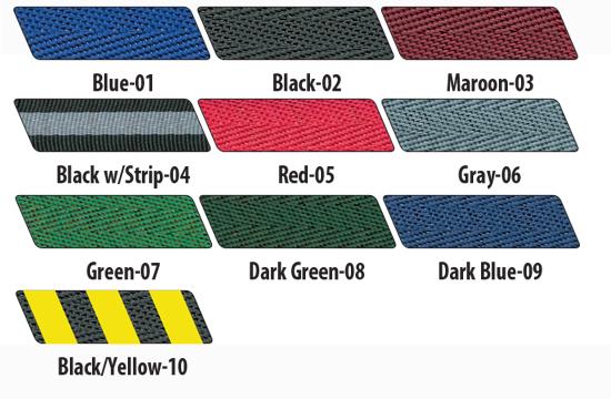 Visiontron Belt Posts Colors