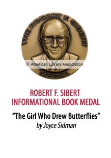 2019 Robert F. Sibert Informational Book Medal Winner