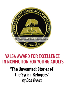 2019 YALSA Award for Excellence in NonFiction for Young Adults