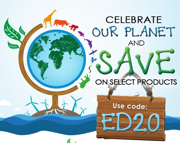 Celebrate our planet and save on select items this week!