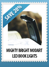 Mighty Bright ModArt LED Book Lights
