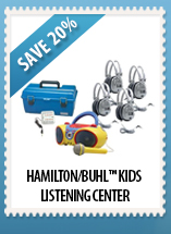 Hamilton/Buhl™ Kids CD/Karaoke Boombox Listening Center