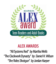 2018 ALEX Award Winners