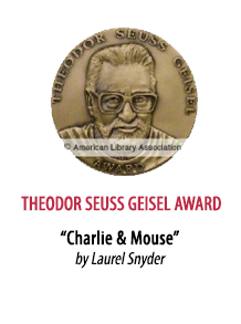 2018 Theodor Seuss Geisel Award Winner