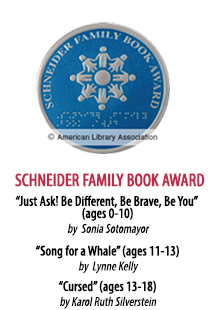 2020 Schneider Family Book Award Winner