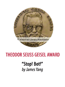 2020 Theodor Seuss Geisel Award Winner