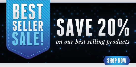 Save 20% on our Best Sellers! Offer Ends 02/26/2017