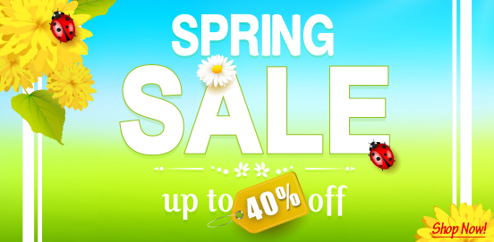 Save up to 40% Offer Ends 03/18/2018