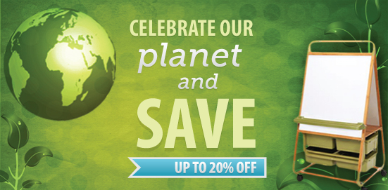 Celebrating Earth Week with Savings up to 20% OFF!