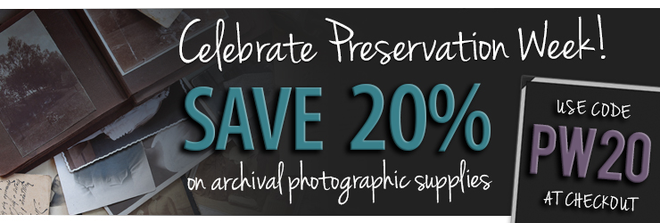 Save on Select Archival Products, Ends April 28, 2019