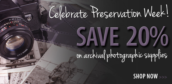 Save 20% on select Archival products Offer Ends 04/29/2018