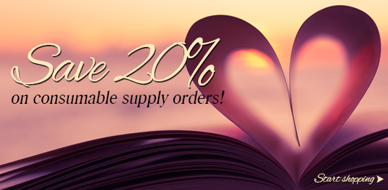 LUV20 is Here with 20% OFF Supplies Order!