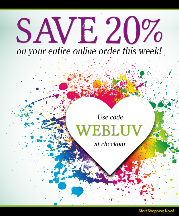 WEBLUV Save 25% OFF Entire Cart, Ends July 29th, 2018