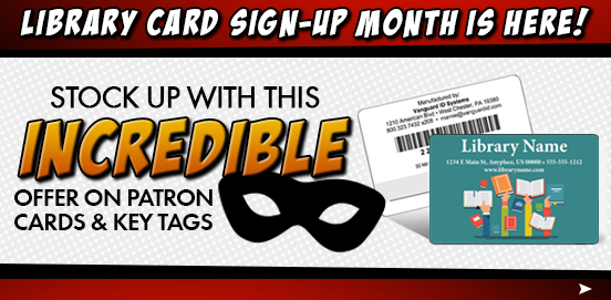 Save 15% on Patron Cards and Keytags and have them shipped FREE
