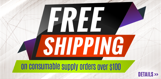 Save with Free Shipping with Supply Orders of $100 or More!  Some Exclusions apply. Offer Ends 11/17/2019