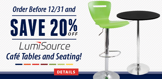 Save 20% OFF Select LumiSource Products! Offer ends December 31 2014!
