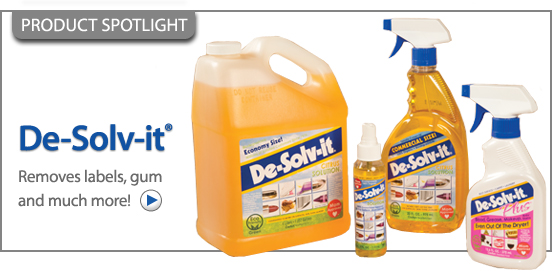 DE-SOLV-IT® 1-OZ. SPRAY!
