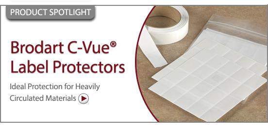 Brodart C-Vue Label Protectors!