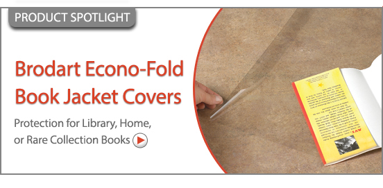 Brodart Econo-Fold Book Jack Covers!