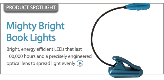 Mighty Bright UltraFlex2 LED Book Light!
