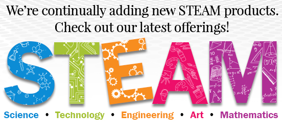 Check out our STEAM products!
