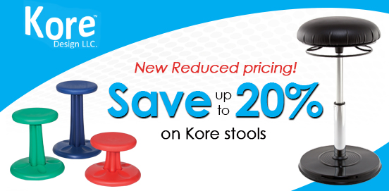 Save 20% OFF Kore Stools