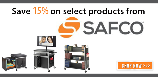 Save on Select Safco Products from now through June
