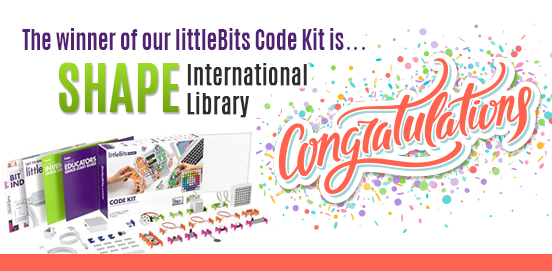 Congratulations SHAPE International Library!