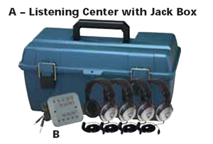 Listening Center with Jack Box