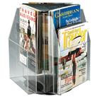Image of Safco Products Double-Tier Six-Magazine Tabletop Displayer