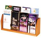 Image of Wooden Mallet 8-Brochure Acrylic Displayer